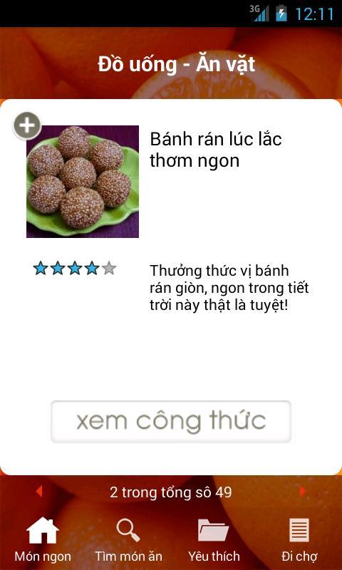 Mon Ngon Moi Ngay الملصق Mon Ngon Moi Ngay تصوير الشاشة 1 ...