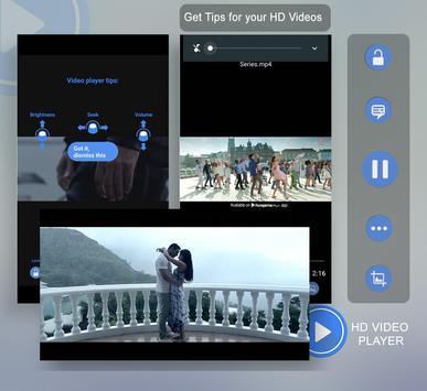 3GP/MP4/AVI HD Video Player poster