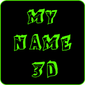 My Name 3D Live Wallpaper icon