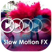 Slow Motion Video FX Camera icon