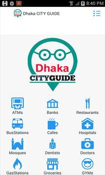 Dhaka City Guide poster