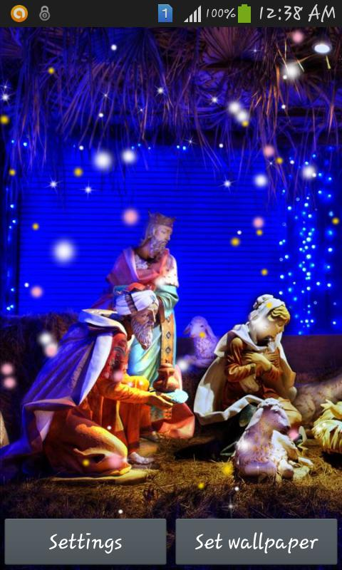 Christmas Crib Images Hd.Christmas Crib Wallpaper For Android Apk Download