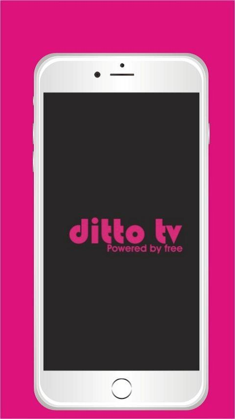 Free ditto TV - Live TV Shows Channels List for Android