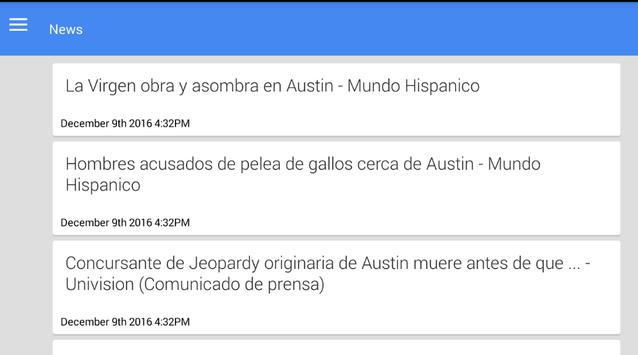 Noticias de Austin screenshot 1