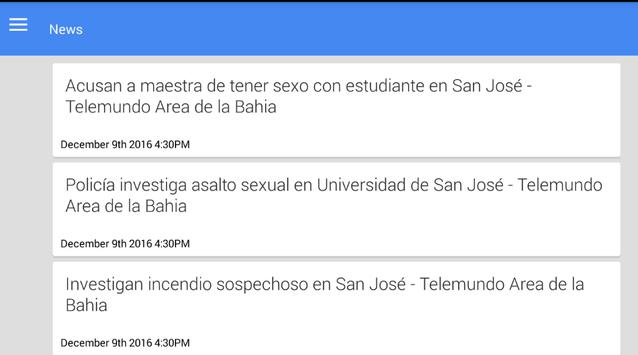Noticias de San Jose apk screenshot