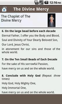 Divine Mercy Prayers apk screenshot