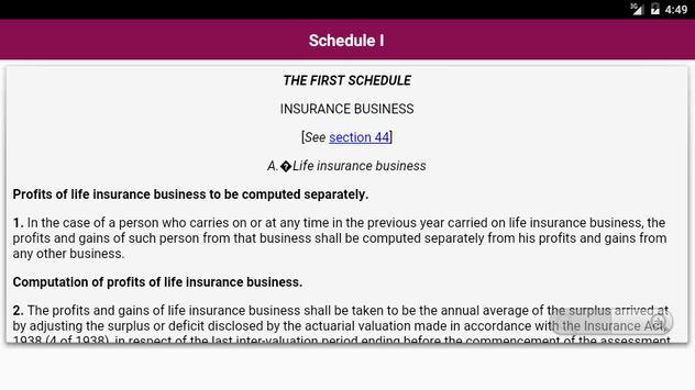 Income Tax Act 1961 screenshot 5