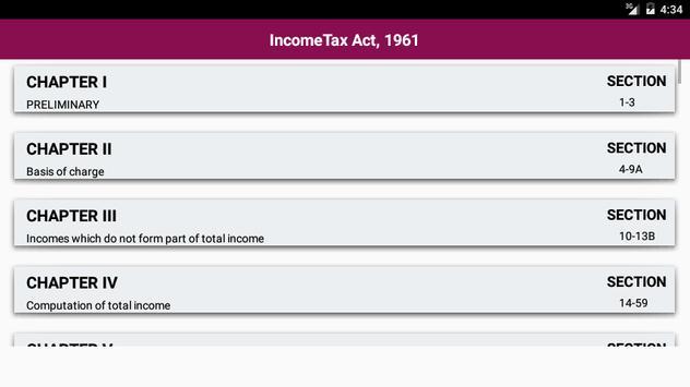 Income Tax Act 1961 screenshot 7