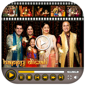 Happy Diwali Video Maker With Music icon