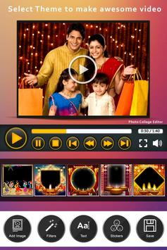 Happy Diwali Video Maker With Music screenshot 3