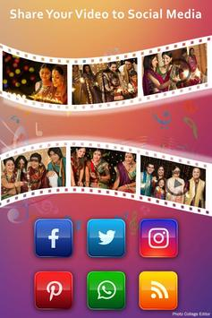 Happy Diwali Video Maker With Music screenshot 5