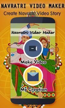 Navratri Video Maker Music poster