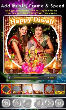 Diwali Photo Video Maker apk screenshot
