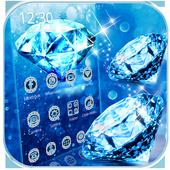 Blue Diamond Theme Wallpaper icon