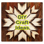 DIY Craft Ideas. Easy Craft Ideas to try at Home. icon