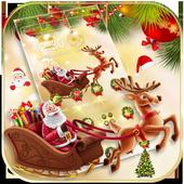 Merry Christmas 2017 Theme Wallpaper icon