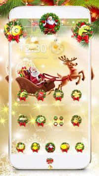 Merry Christmas 2017 Theme Wallpaper poster
