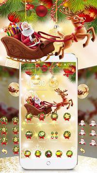 Merry Christmas 2017 Theme Wallpaper screenshot 1