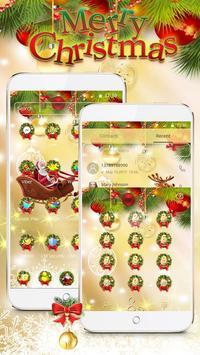 Merry Christmas 2017 Theme Wallpaper screenshot 2