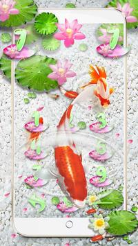 Koi Fish Water Theme screenshot 3