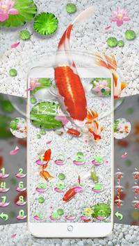 Koi Fish Water Theme screenshot 1