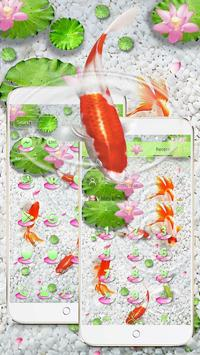 Koi Fish Water Theme apk screenshot
