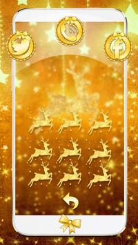 Gold Christmas Theme Wallpaper screenshot 3