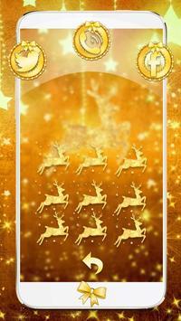 Gold Christmas Theme Wallpaper screenshot 11