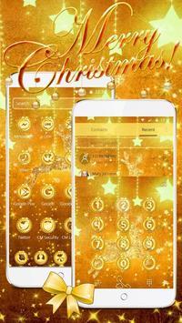 Gold Christmas Theme Wallpaper apk screenshot