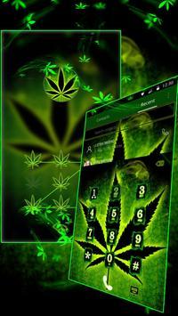 Neon Rasta Weed Theme screenshot 8