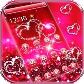 Glitter Love Sparkle Theme Wallpaper icon
