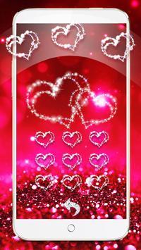 Glitter Love Sparkle Theme Wallpaper screenshot 14