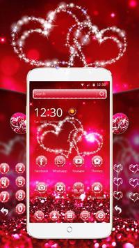 Glitter Love Sparkle Theme Wallpaper screenshot 1
