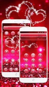 Glitter Love Sparkle Theme Wallpaper screenshot 2