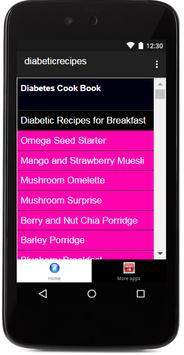 Diabetic Food poster