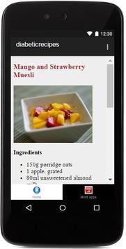 Diabetic Food apk screenshot