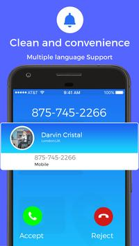 Phone - Photo Contacts, Dialer, Caller ID, Calls Cartaz