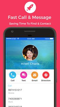 Phone - Photo Contacts, Dialer, Caller ID, Calls imagem de tela 3