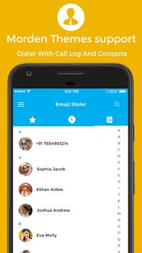 Phone - Photo Contacts, Dialer, Caller ID, Calls imagem de tela 4