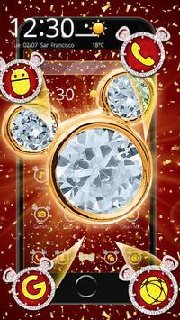Gold Diamond Mouse Valentine Day screenshot 4