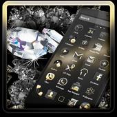 Diamond Black Theme icon