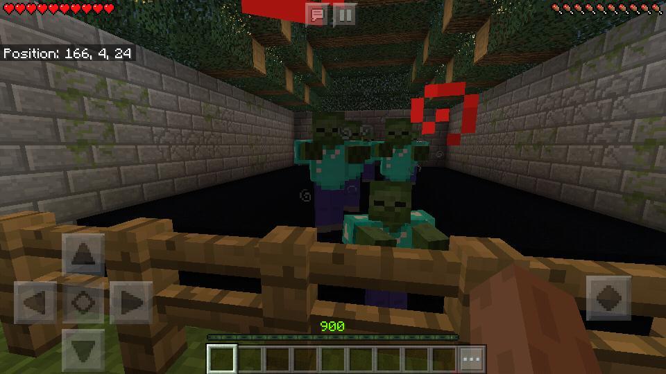 Zombie maps for Minecraft PE für Android - APK herunterladen