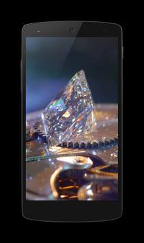 Diamonds 3D Video LWP poster