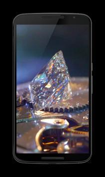 Diamonds 3D Video LWP screenshot 1
