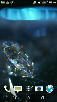 Diamonds 3D Video LWP screenshot 3