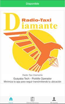 Radio Taxi Diamante Operador screenshot 1