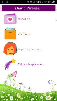 Diario Personal apk screenshot