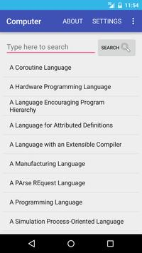 Computer Dictionary English poster