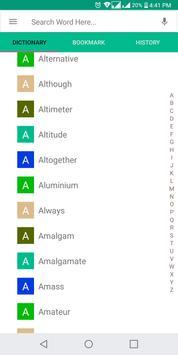 English To Malayalam Dictionary Offline (2018) apk screenshot