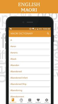 Maori Dictionary screenshot 1